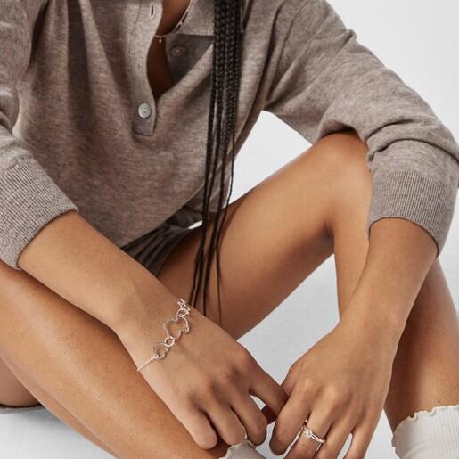 Silver New Silueta Bracelet
