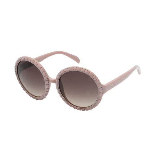 Square Bear sunglasses in pink