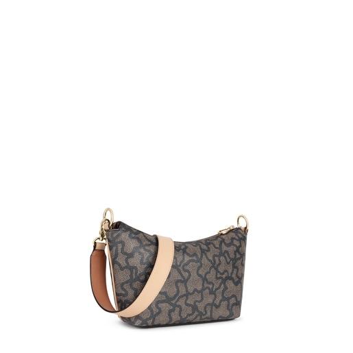 Multi-black Kaos Icon Baguette Crossbody bag