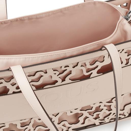 Large shopping bag Amaya Kaos Shock beige