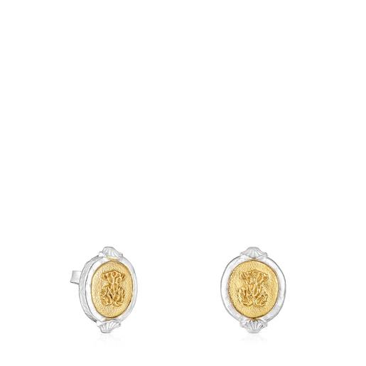 Oceaan Bicolor cameo Earrings