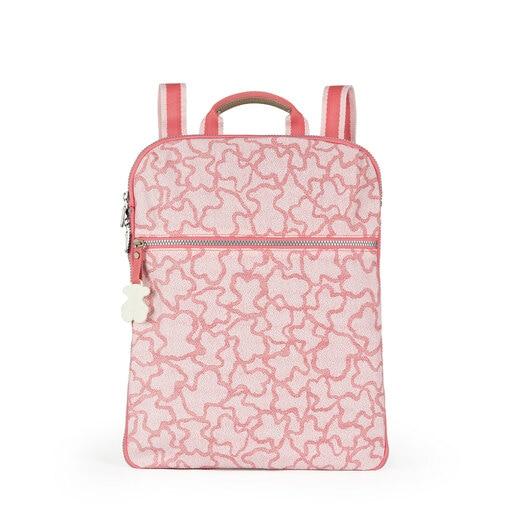 Mochila Kaos New Colores de Nylon en color rosa