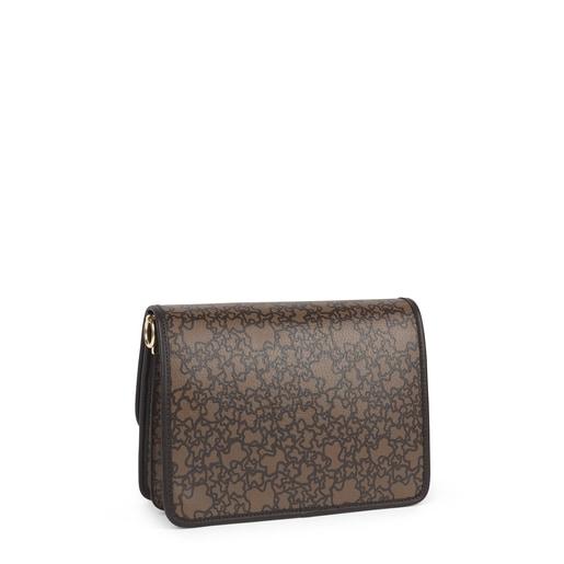 Medium brown Audree Kaos Mini Crossbody bag
