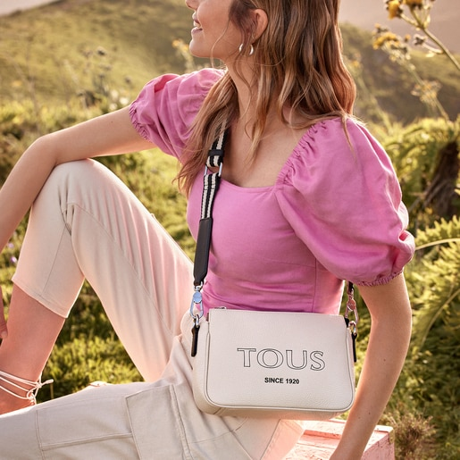 Lilac Leather TOUS Empire Crossbody bag