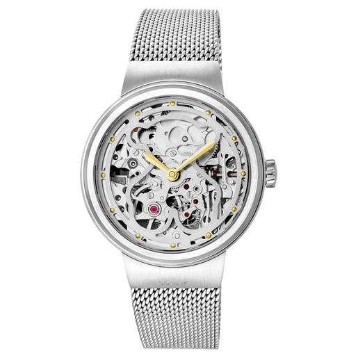 Rellotge automàtic Rond d'acer
