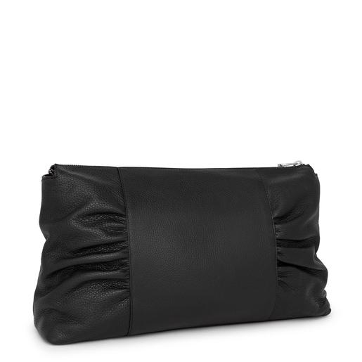 Large black TOUS Empire Crossbody bag