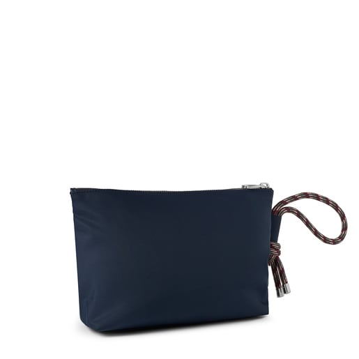 Large navy blue Empire Soft Chain Toiletry bag