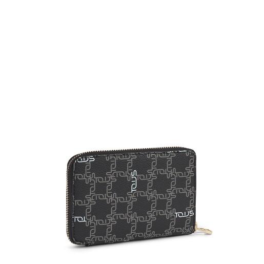 Small black Tous New Logogram wallet