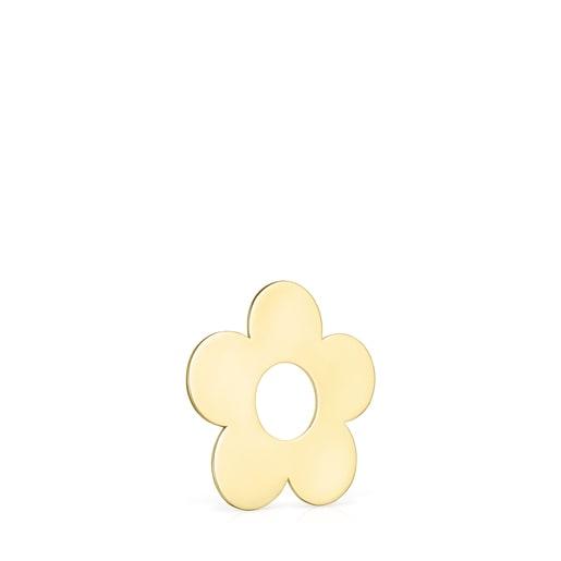Μικρό Μενταγιόν-Λουλούδι Hold Metal από Χρυσό Vermeil