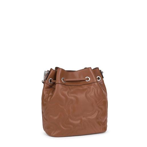 Brown Kaos Dream Bucket bag