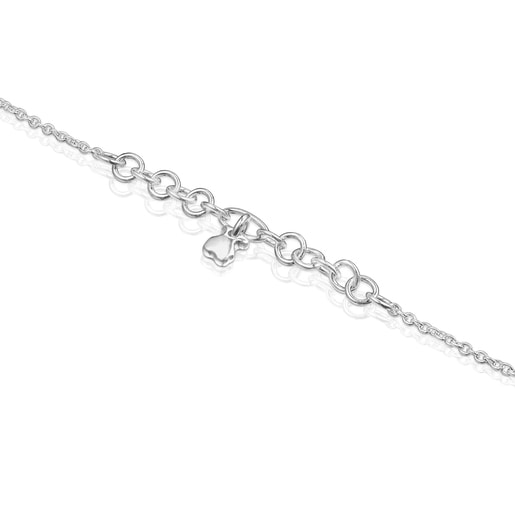 Silver Luah motif Bracelet