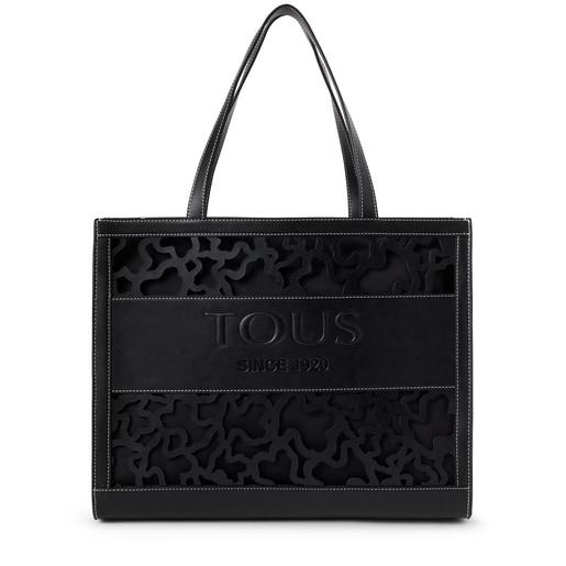 Large black Amaya Kaos Shock shopping bag
