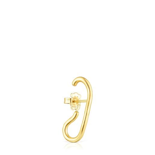 Silver vermeil Hav Earring