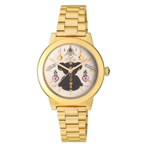 Rellotge Magic Time d'acer IP daurat