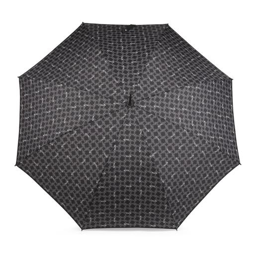 Large black Logogram umbrella