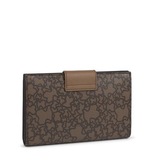 Medium brown Kaos Mini Wallet