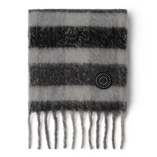 Bufanda negra Kaos Mini Stamp