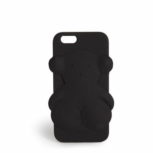 Funda de móvil iPhone 6 Rubber Bear en color negro