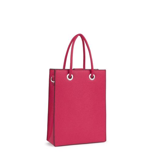 Mini fuchsia TOUS Pop Handbag