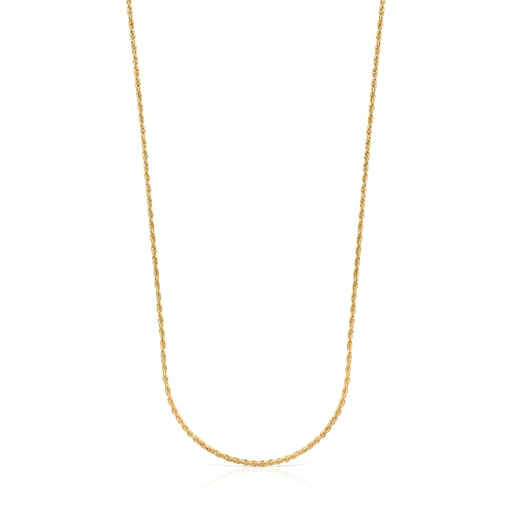 Silver vermeil Mama medallion Necklace set