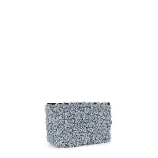Μικρού μεγέθους γκρι-μπλε τσάντα Kaos Shock Ritzo