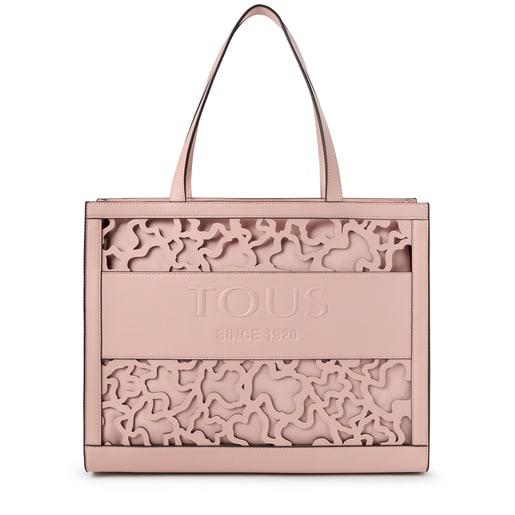 Large shopping bag Amaya Kaos Shock pink