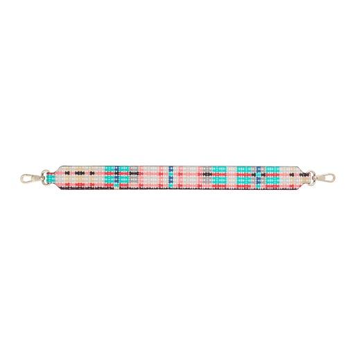 Multicolored Kaos Shock Print Short strap