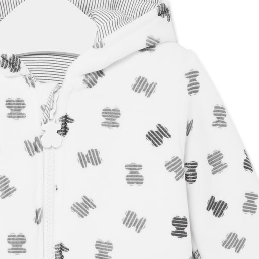 Buzo con capucha Fragment Blanco