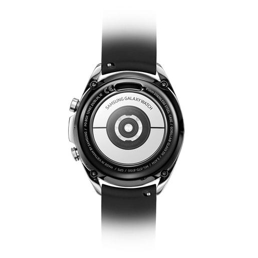 Reloj Samsung Galaxy Watch3 X TOUS de acero IP negro con correa de silicona negra