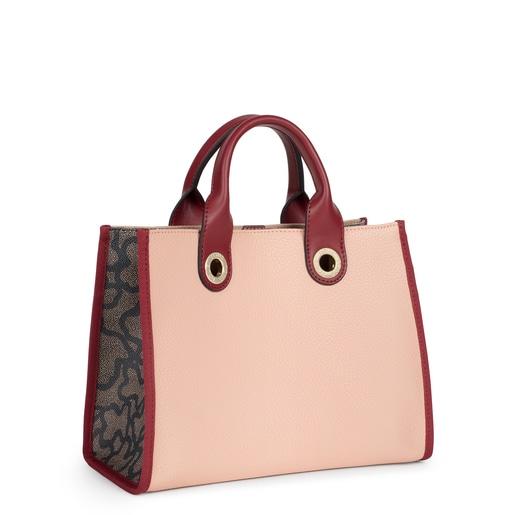 Medium pink Amaya Kaos Icon Shopping bag