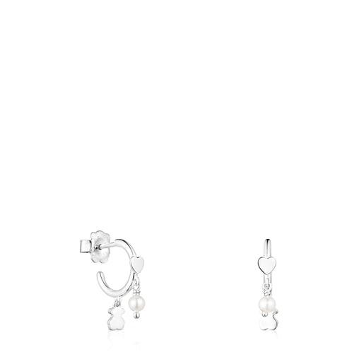 Pendientes de plata y perlas Cool Joy