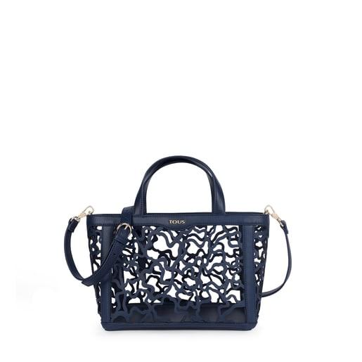 Small navy blue Kaos Shock Tote bag
