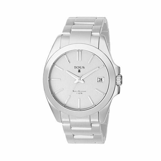 Reloj Drive Aluminio de aluminio anodizado plata