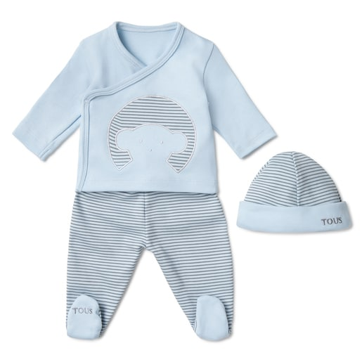 Conjunto de recién nacido Classic Azul Celest