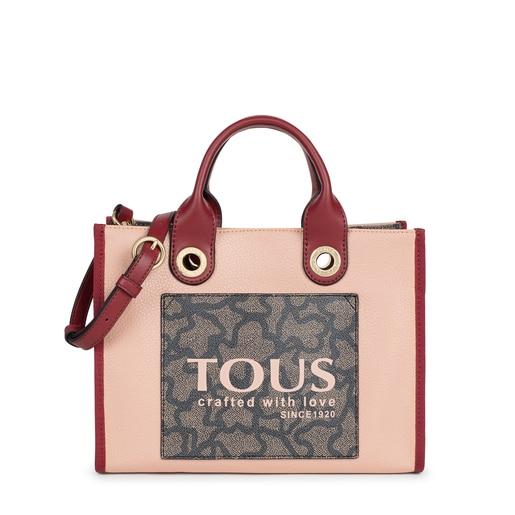 Shopping mediano Amaya Kaos Icon rosa