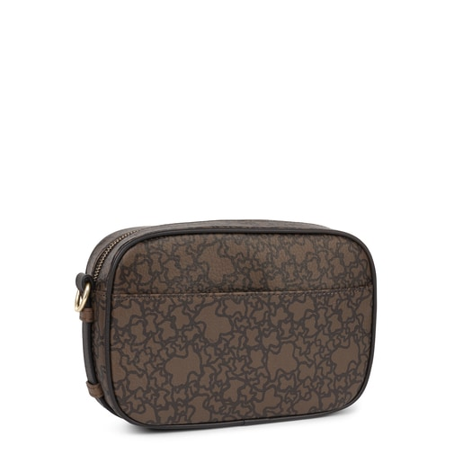 Brown Kaos Mini Crossbody bag