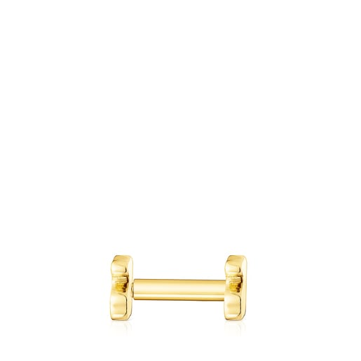 Piercing d'orella TOUS Basics os d'or