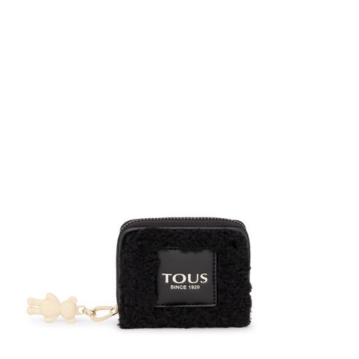 Medium black Amaya Warm Change purse