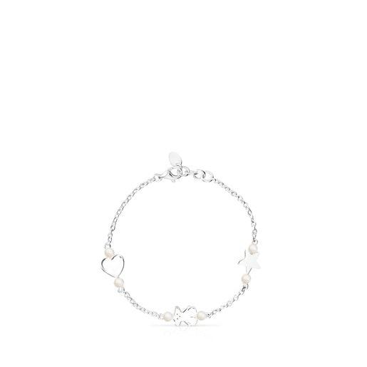 Bracelet Real Sisy en Argent et Perles