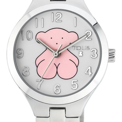 Steel Muffin Watch
