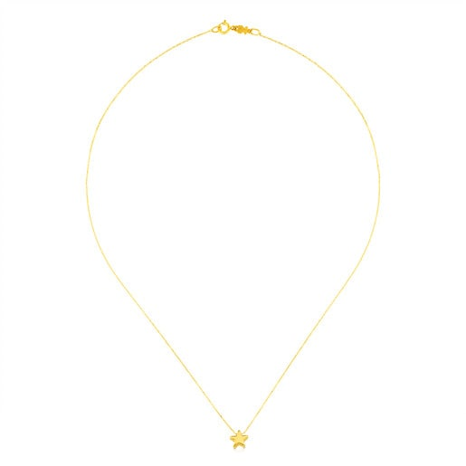Gold Sweet Dolls XXS Necklace Star motif.