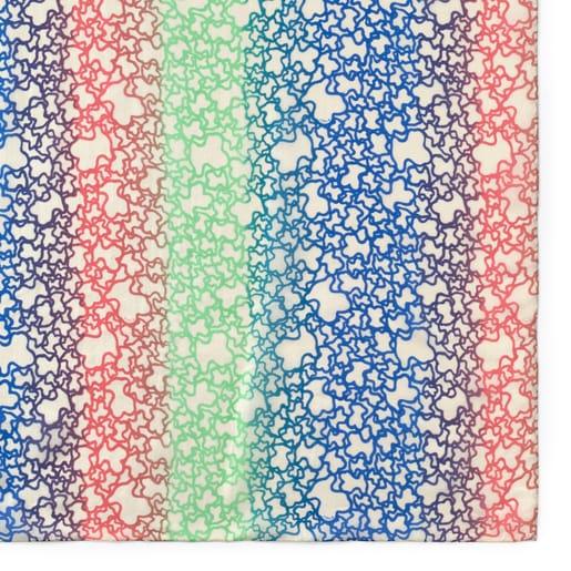 Multi-color Sand Mini Gradient Foulard