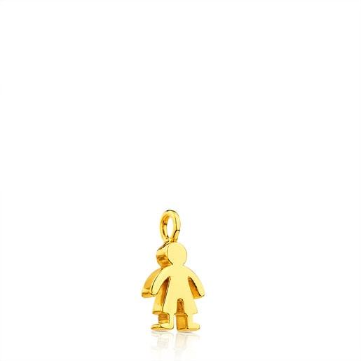 Colgante Sweet Dolls de Oro