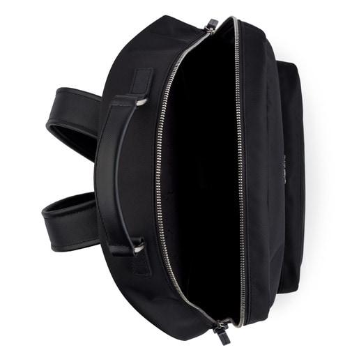 Black Nylon New Berlin Backpack