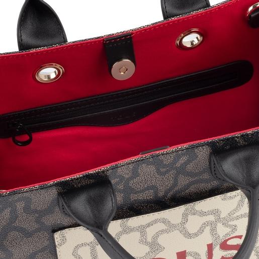 Medium multi-black Amaya Kaos Icon Shopping bag