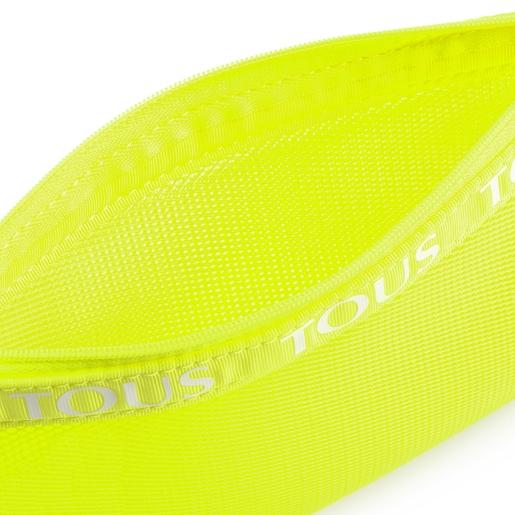 Medium Fluorescent Yellow T Colors Toiletry Bag