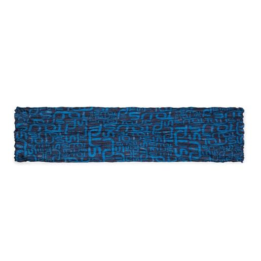 Foulard Doromy Plis Azul