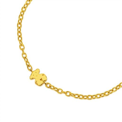 Gold Sweet Dolls Bracelet Bear motif