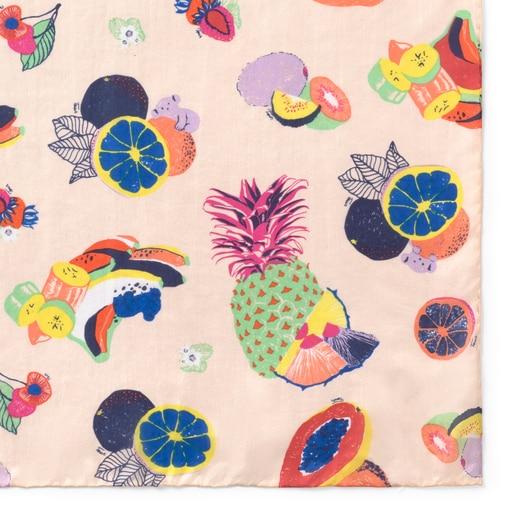 Foulard TOUS Frutas Multicolor