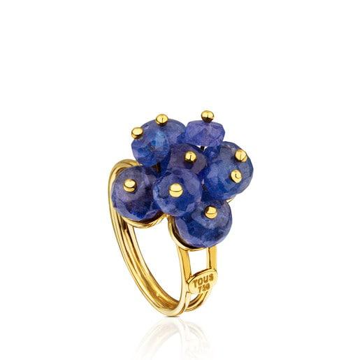 ATELIER Precious Gemstones Ring in Gold with Tanzanites